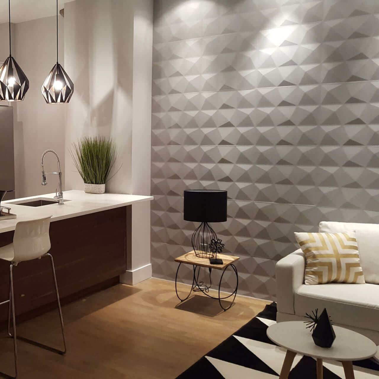 3D Textured Wall Panel Design Ideas
