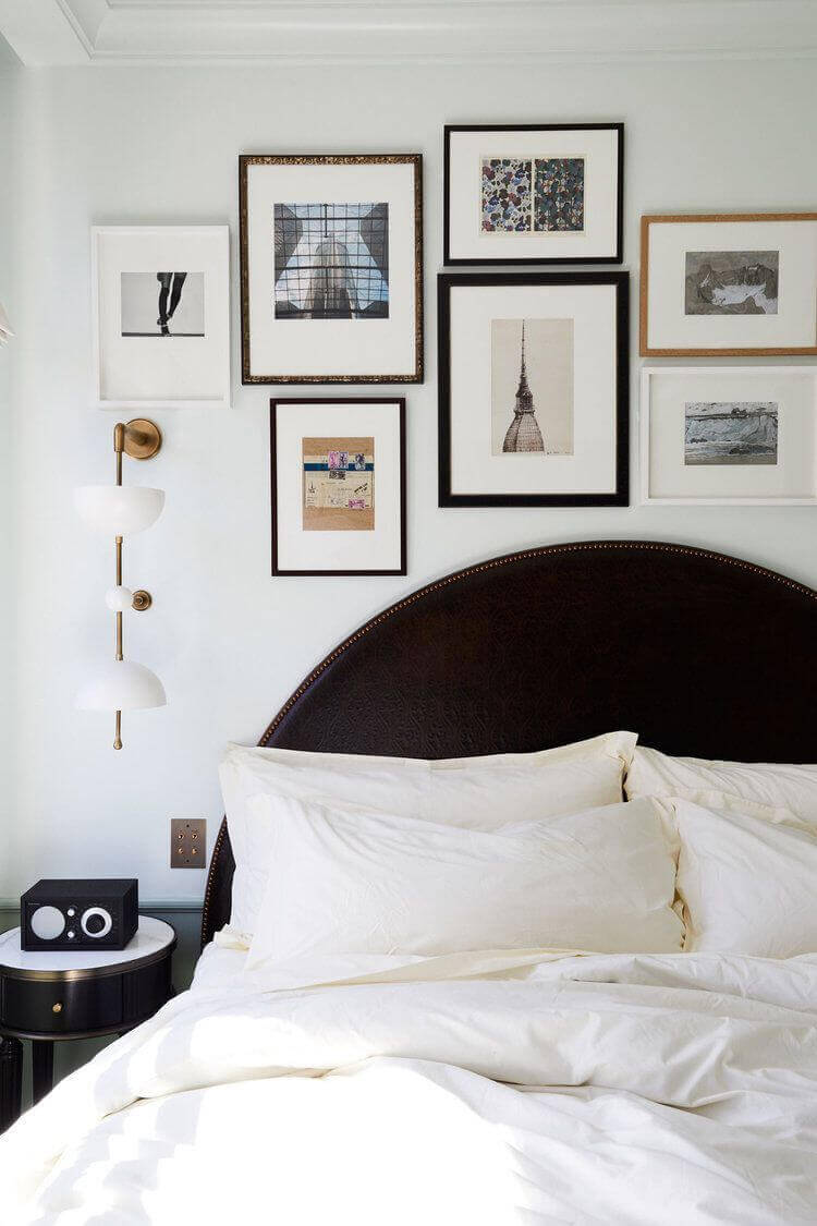 Master Bedroom Ideas 47 Create a Gallery Wall