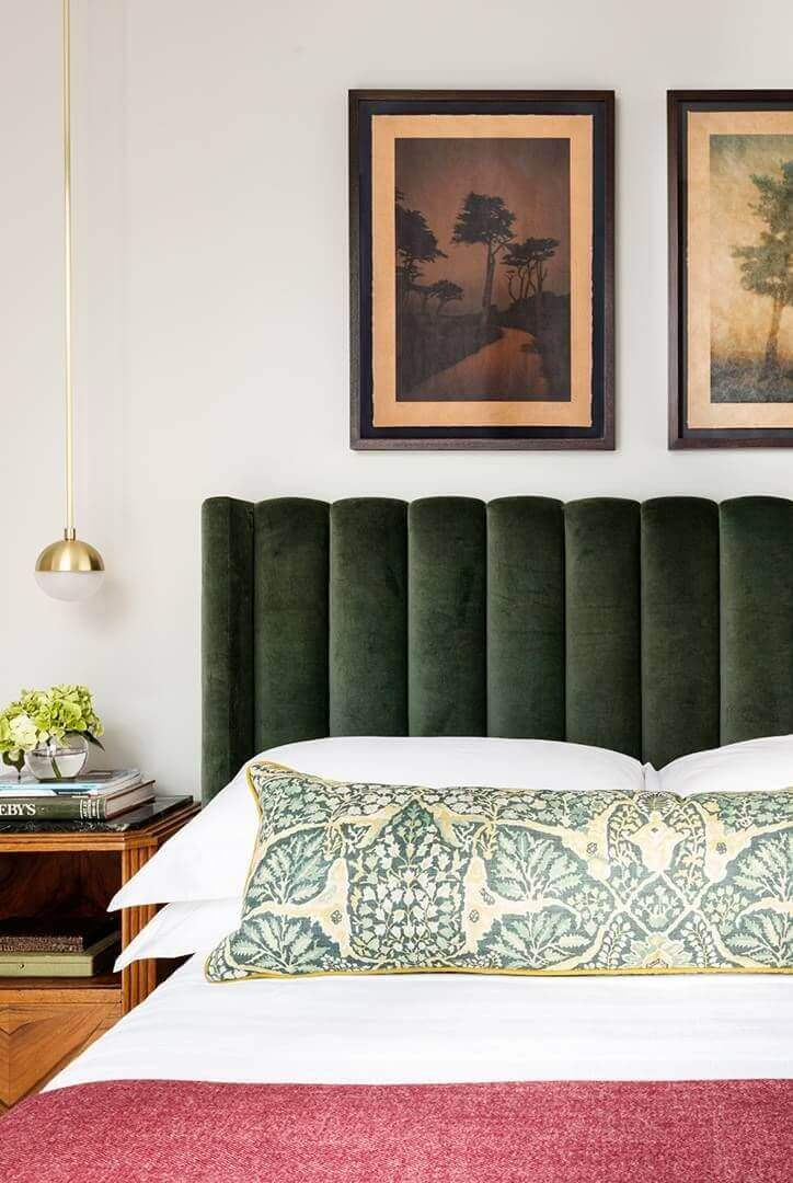 Master Bedroom Ideas for Couples Add a Fun Headboard