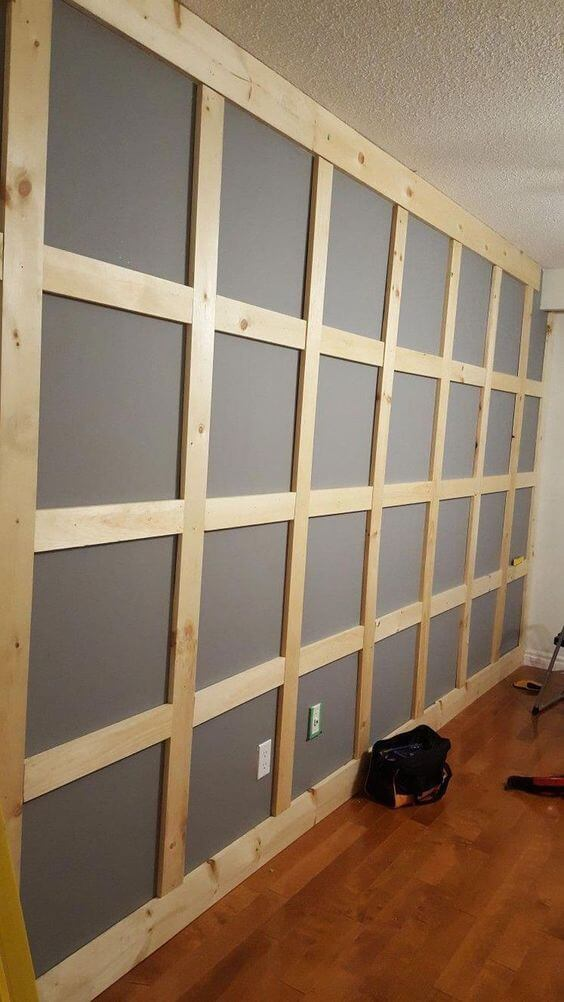 Cheap Wall Paneling Ideas for Basement