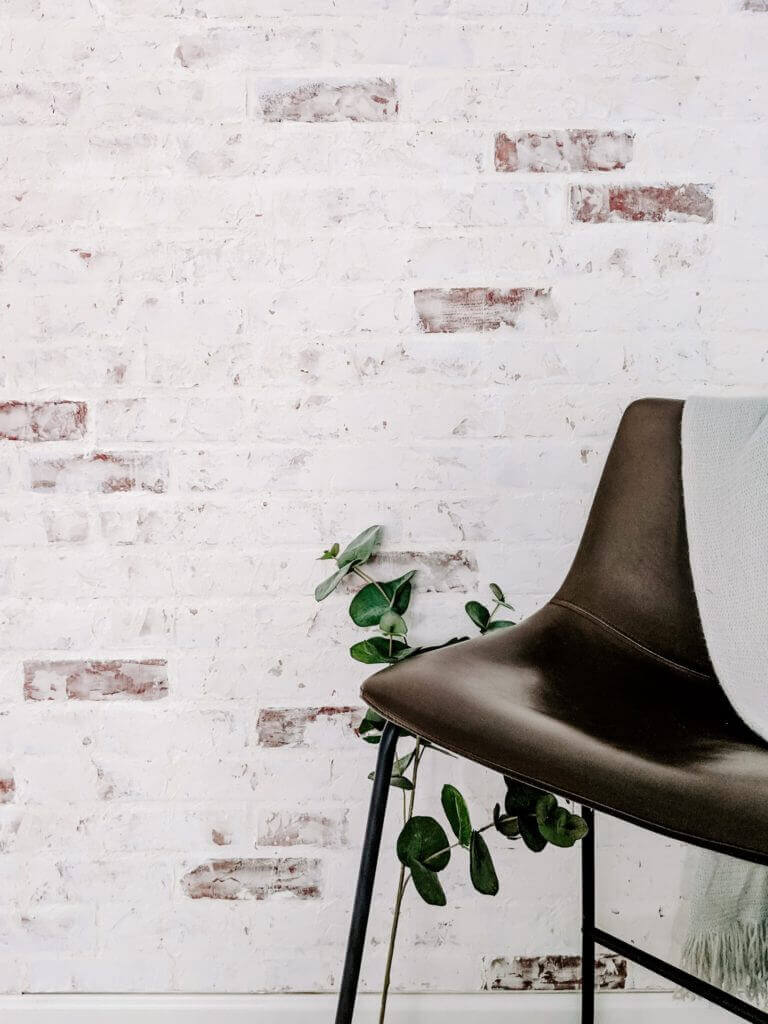Faux Brick Paneling Ideas for Wall