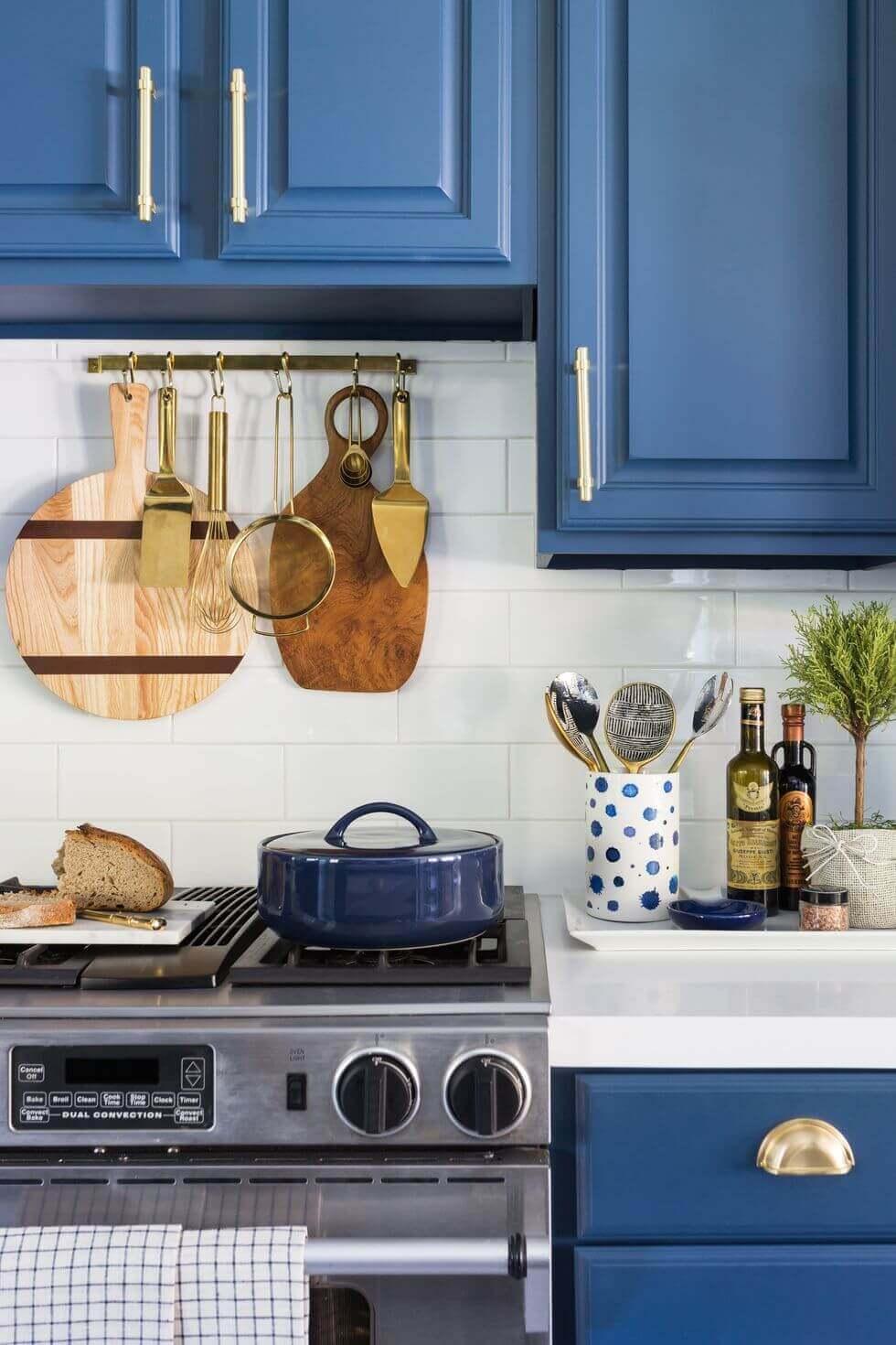 Cheap Kitchen Storage Ideas Pinterest Hang Cutting Boards