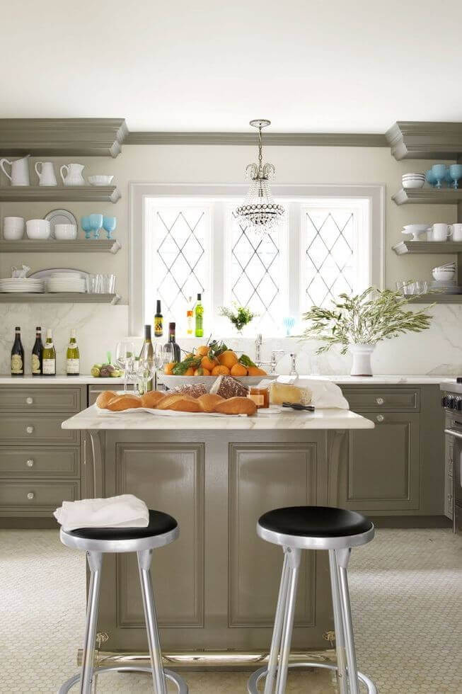 Small Kitchen Storage Ideas Ikea Try Floating Shelves