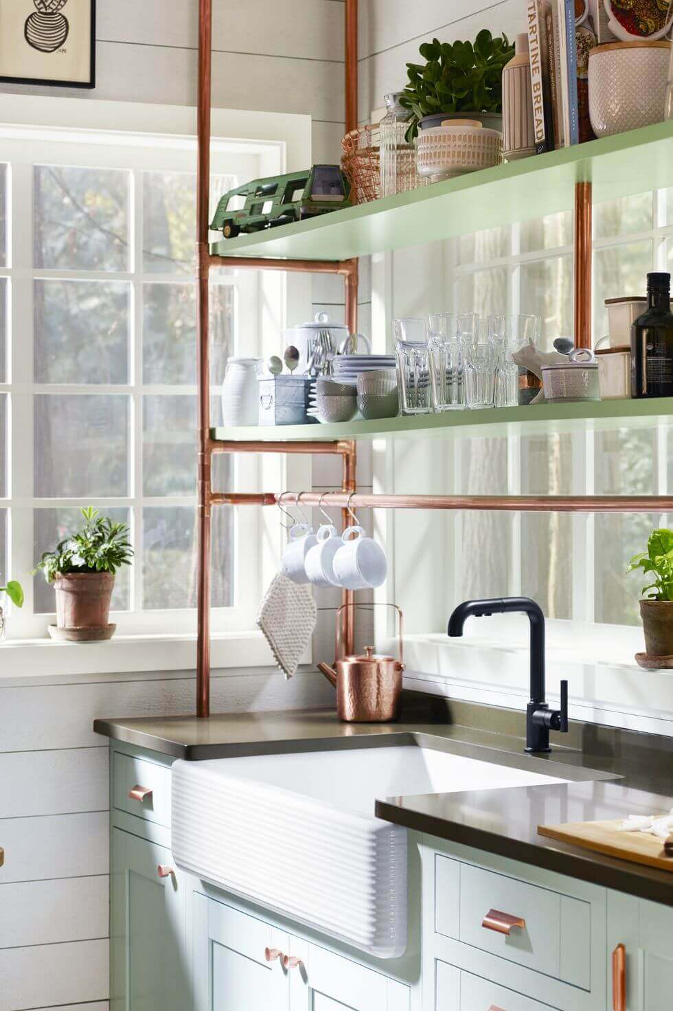 Clever Kitchen Storage Ideas Ikea Hang Mugs