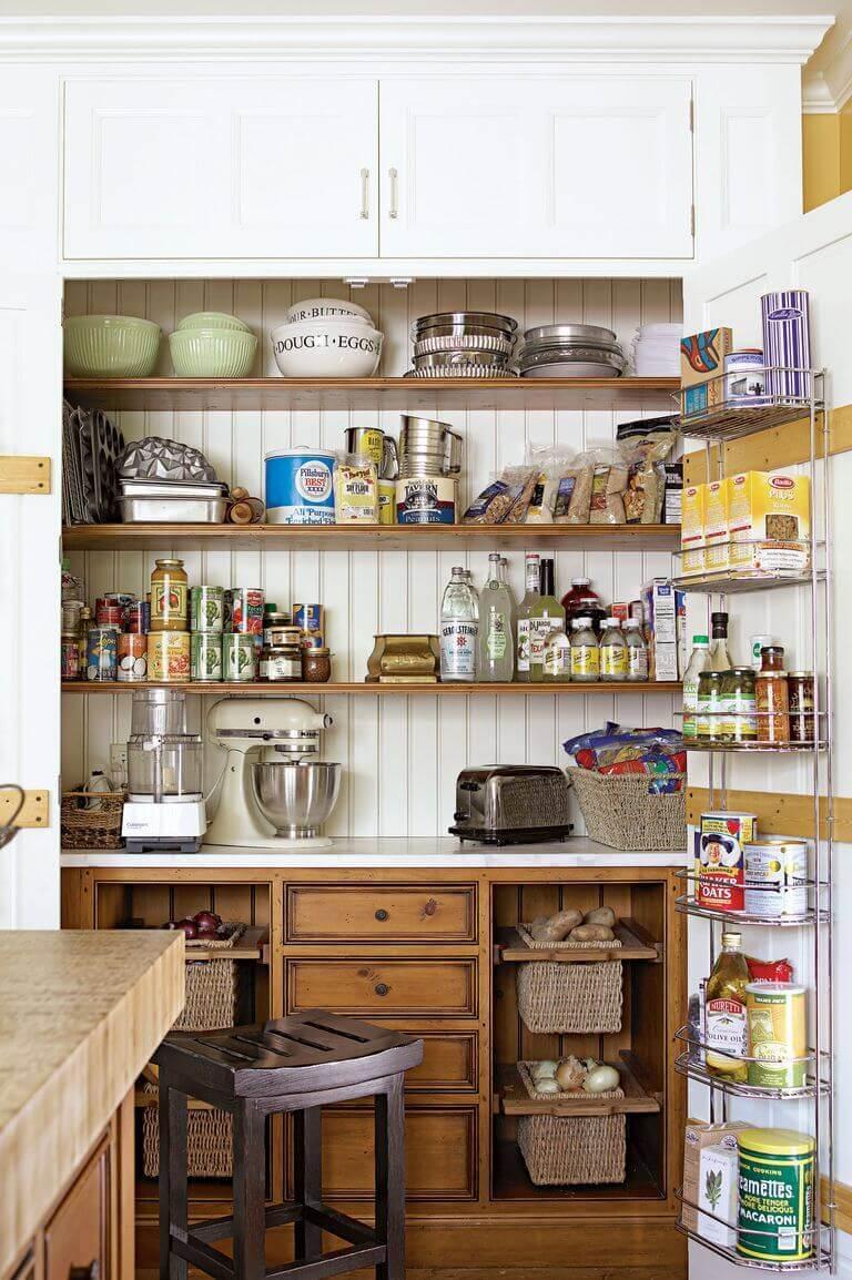 Cheap Kitchen Storage Ideas 33 Hide Clutter