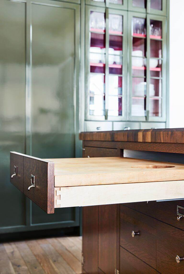Small Kitchen Storage Ideas ikea 37 Install a Pull-Out Cutting Board