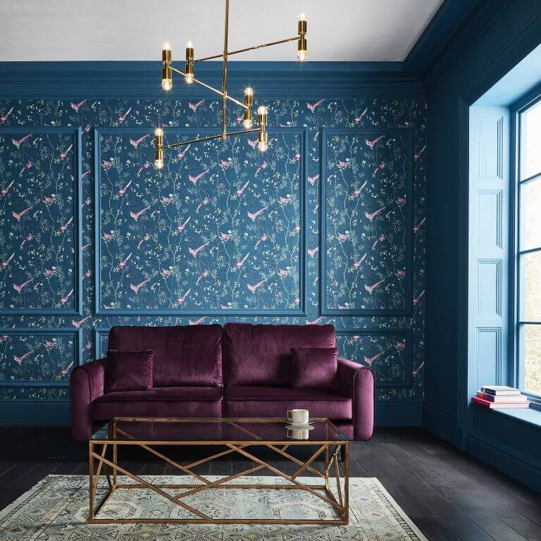 Patterned Wall Panel Wainscoting Ideas
