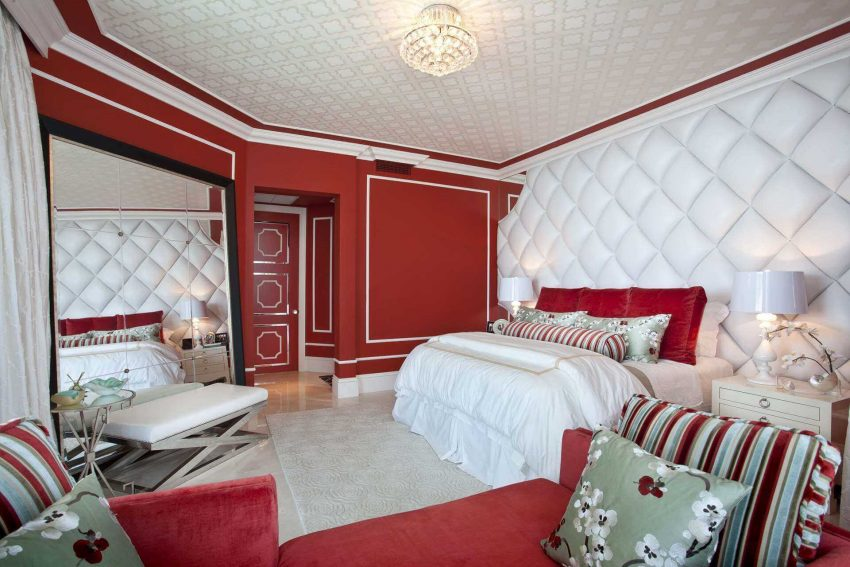 Soundproof Tufted Wall Paneling Ideas for Basement Bedroom