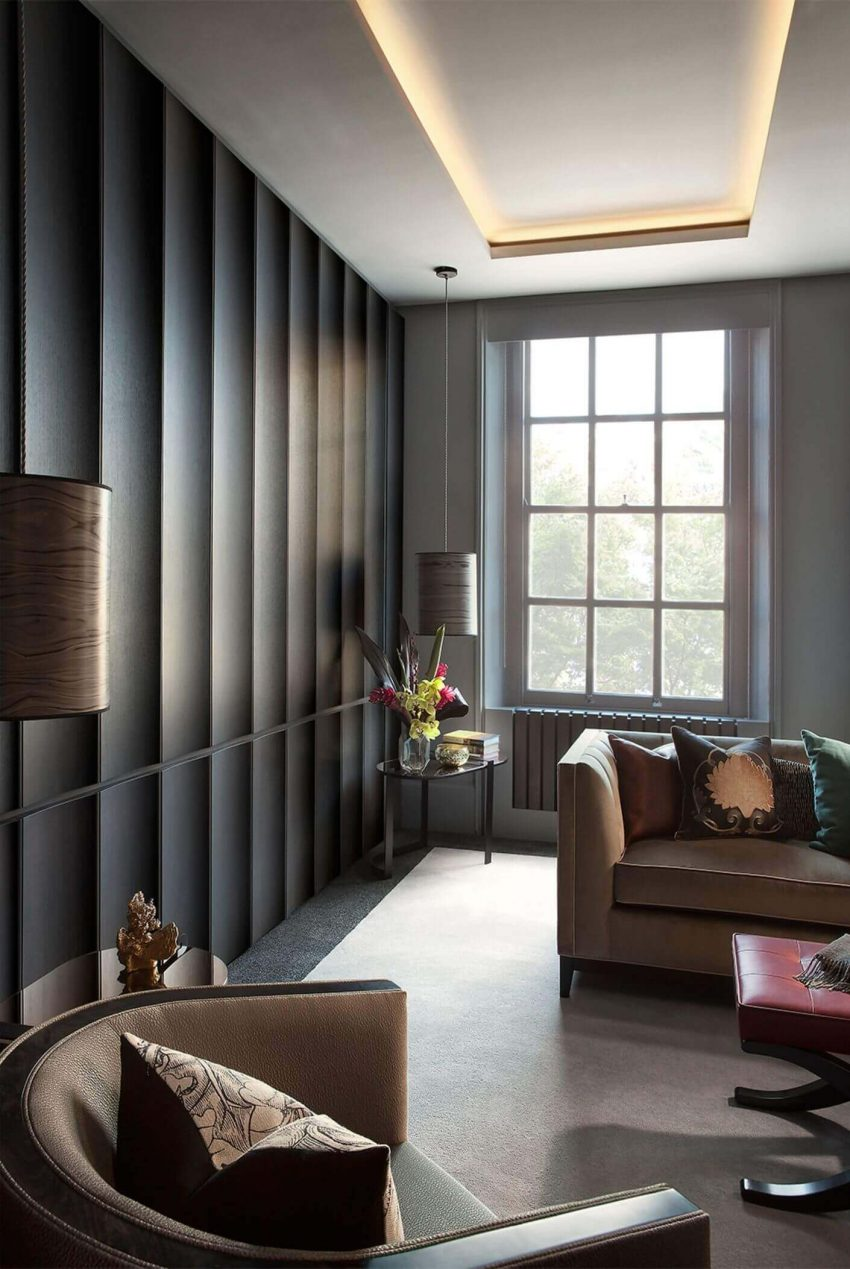 Wall Paneling Ideas for Living Room