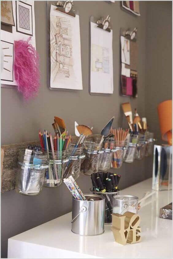 A DIY Workstation for Girls Bedroom Ideas - Harptimes.com