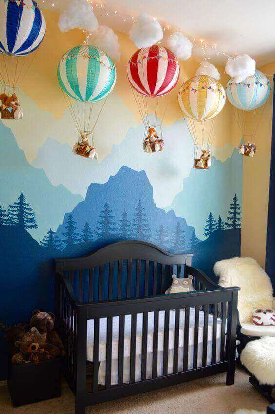 Baby Room Ideas with Natural Concepts - Harptimes.com