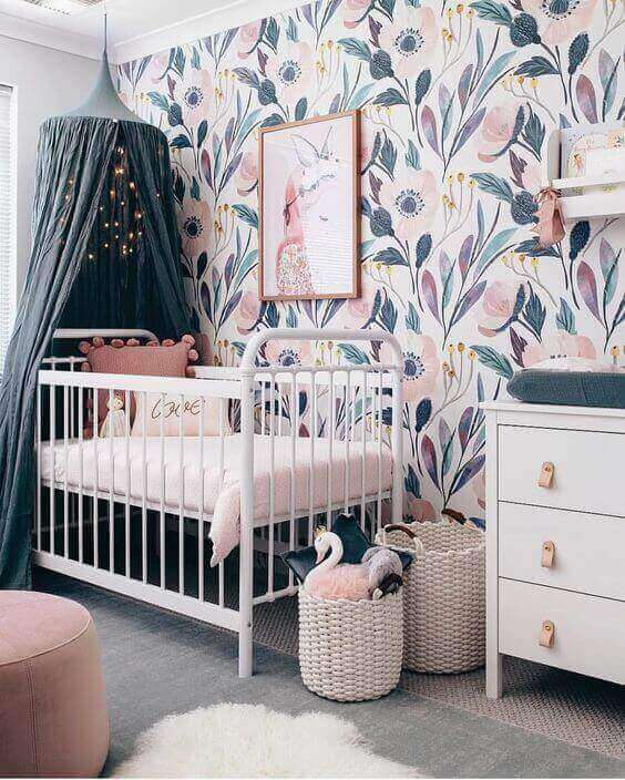 Baby Room Ideas Beautiful Wall Paint for Baby Girl Room - Harptimes.com