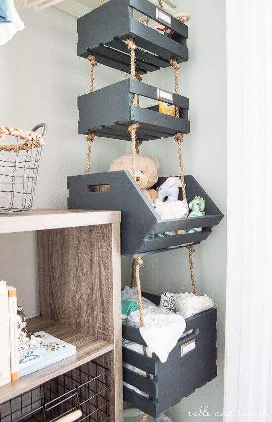 Baby Room Ideas Creative Storage for Small Baby Room Ideas - Harptimes.com