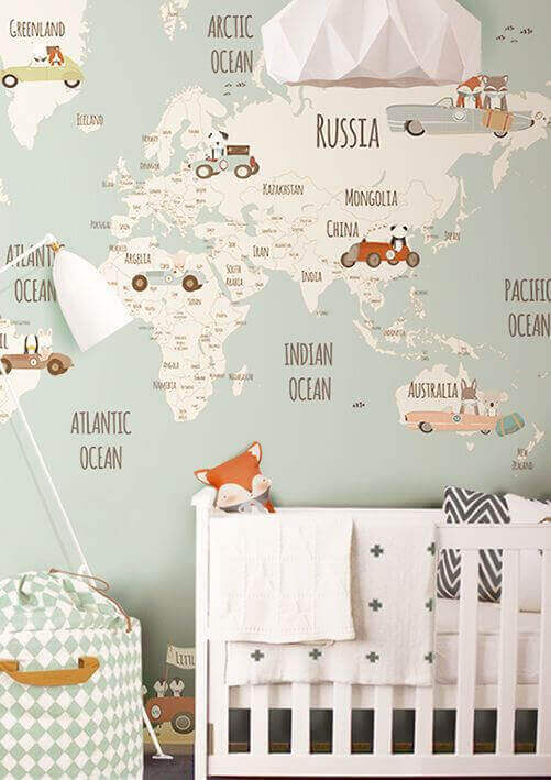 Travel Themes for Baby Room Ideas - Harptimes.com