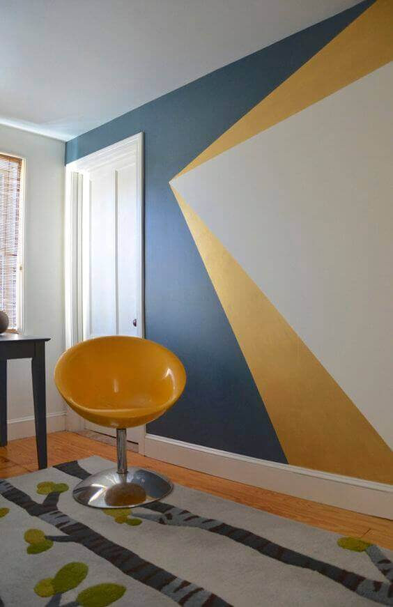Bedroom Paint Colors Dynamic Blue and Yellow - Harptimes.com