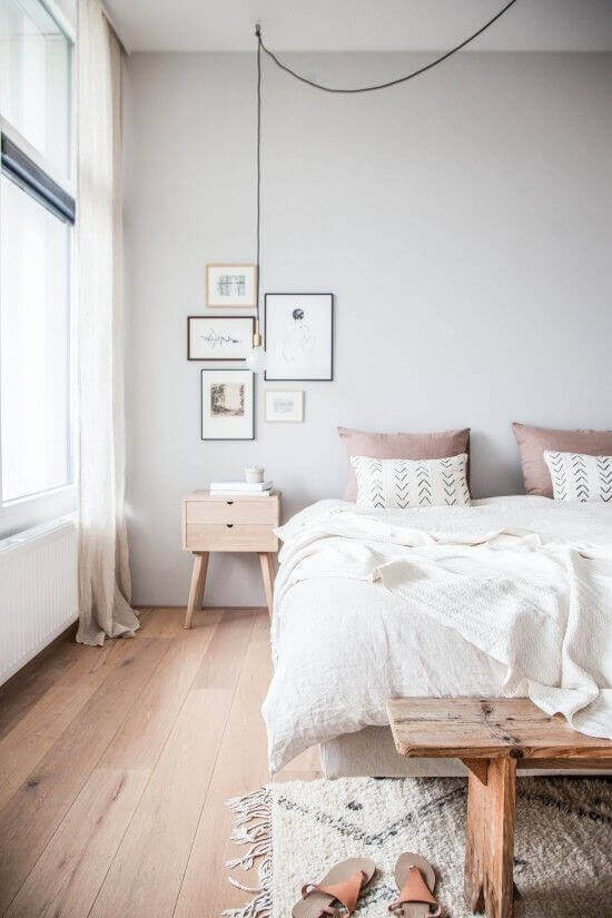 Bedroom Paint Colors Soothing and Relaxing Grey and White - Harptimes.com
