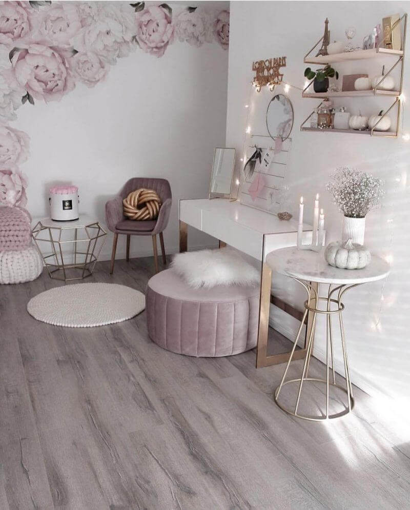 Bedroom Paint Colors The Romantic Baby Pink - Harptimes.com