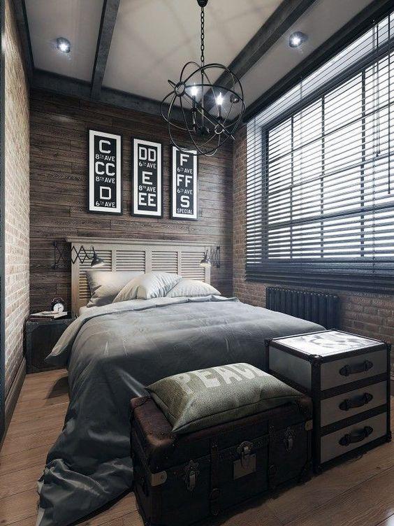 Boys Bedroom Ideas Antique Industrial Charm - Harptimes.com