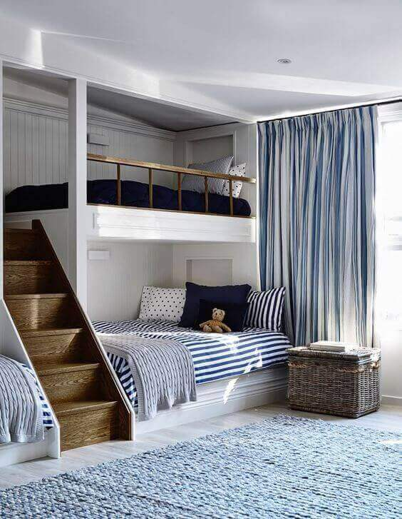 Boys Bedroom Ideas Custom-Made Bunk Beds - Harptimes.com