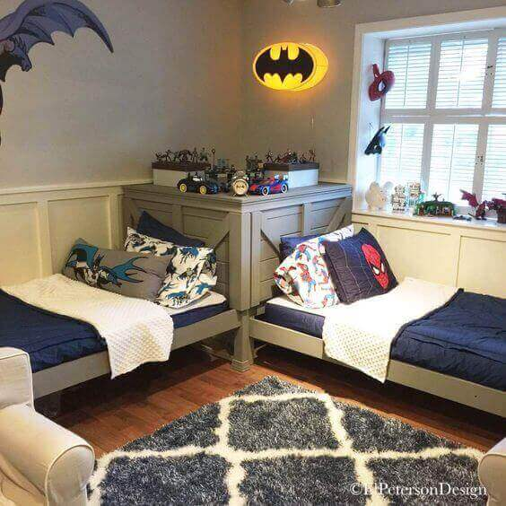 Boys Bedroom Ideas Full of Powerful Superheroes - Harptimes.com
