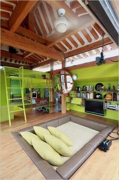 Boys Bedroom Ideas Greeny Sunken Retreat - Harptimes.com
