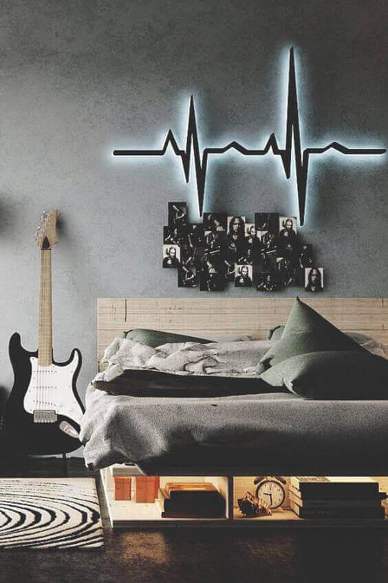 Boys Bedroom Ideas Music Theme - Harptimes.com