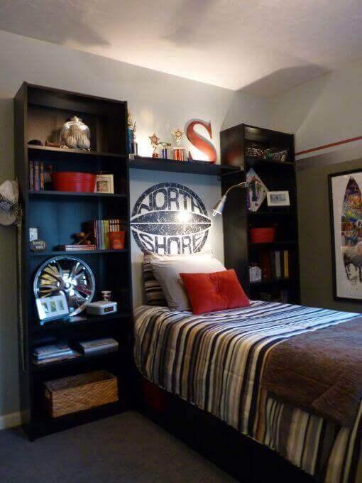 Boys Bedroom Ideas Striped Bedding - Harptimes.com