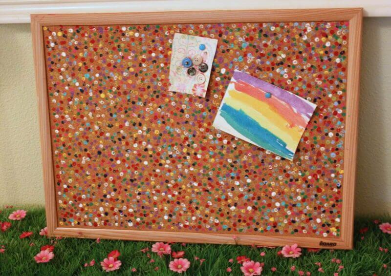 Color Up Your Cork Board Ideas - Harptimes.com
