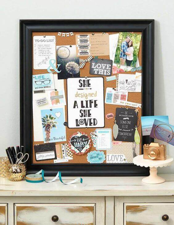 Cork Board Ideas Keep Being Motivated - Harptimes.com