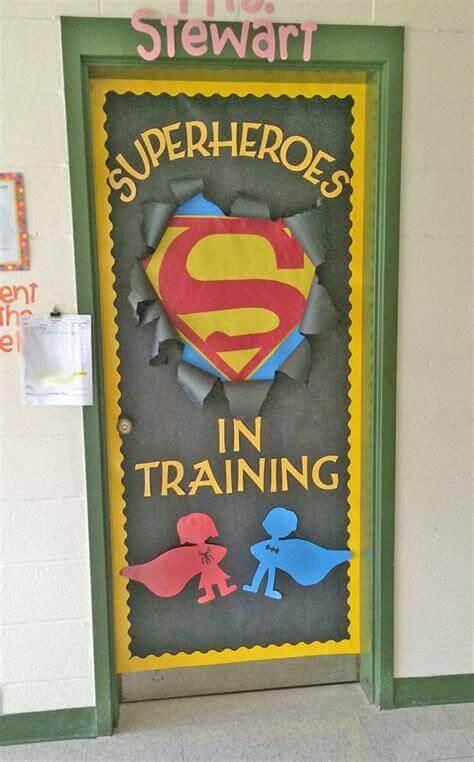 Cork Board Ideas Superhero Goals - Harptimes.com