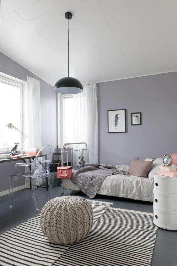 Big Girl Bedroom Ideas Grey with Bohemian Style - Harptimes.com