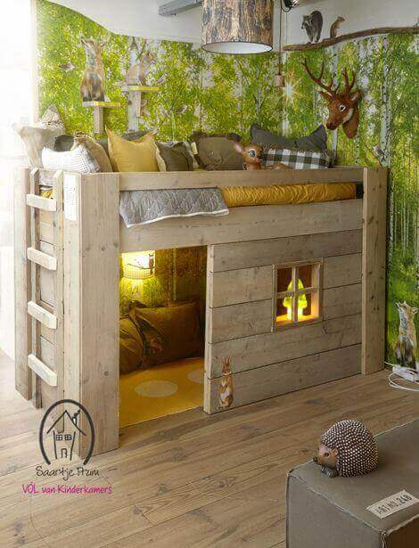 Kids Bedroom Ideas Epic Woodland - Harptimes.com
