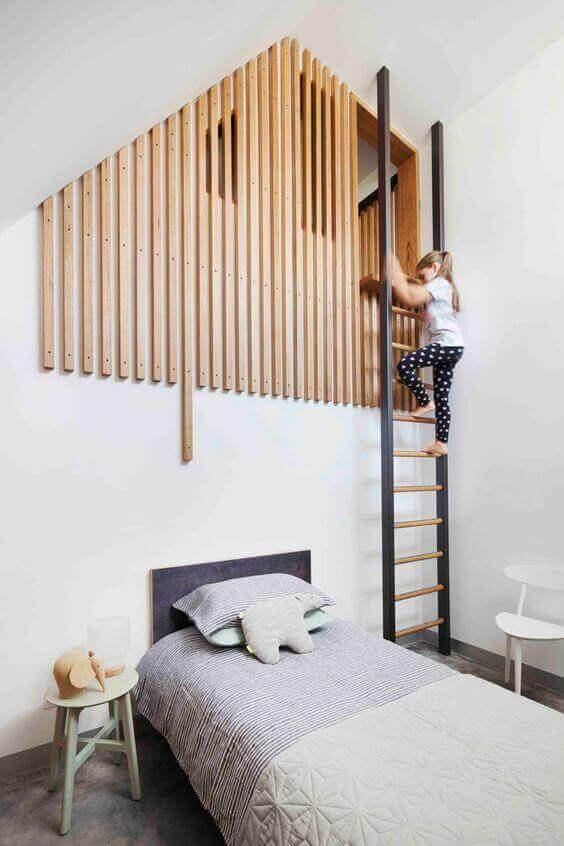 Kids Bedroom Ideas Extraordinary Ladder - Harptimes.com