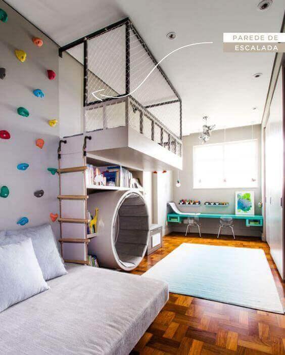 Kids Bedroom Ideas Multipurpose Space