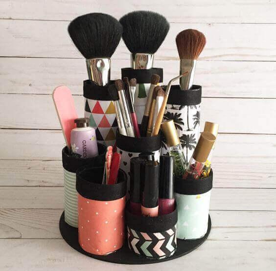 Makeup Room Ideas DIY Makeup Kit Storage - Harptimes.com