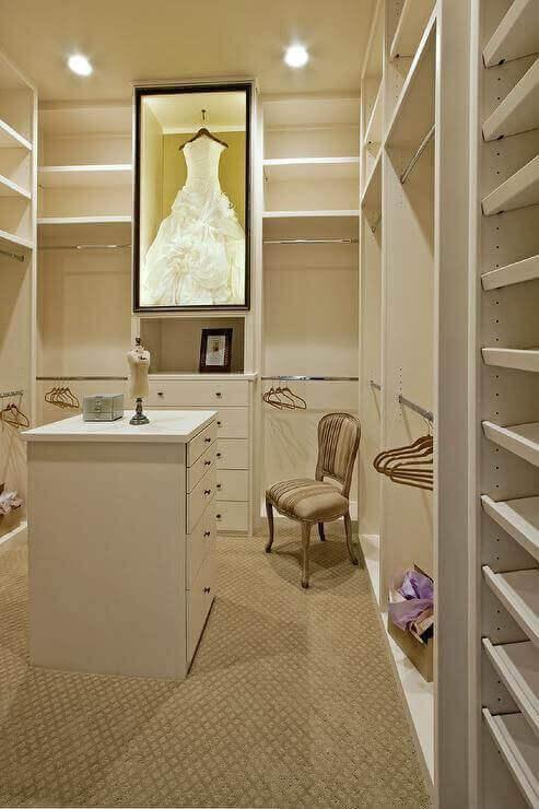 Makeup Room Ideas Makeup Room in White Walk-In Closet - Harptimes.com
