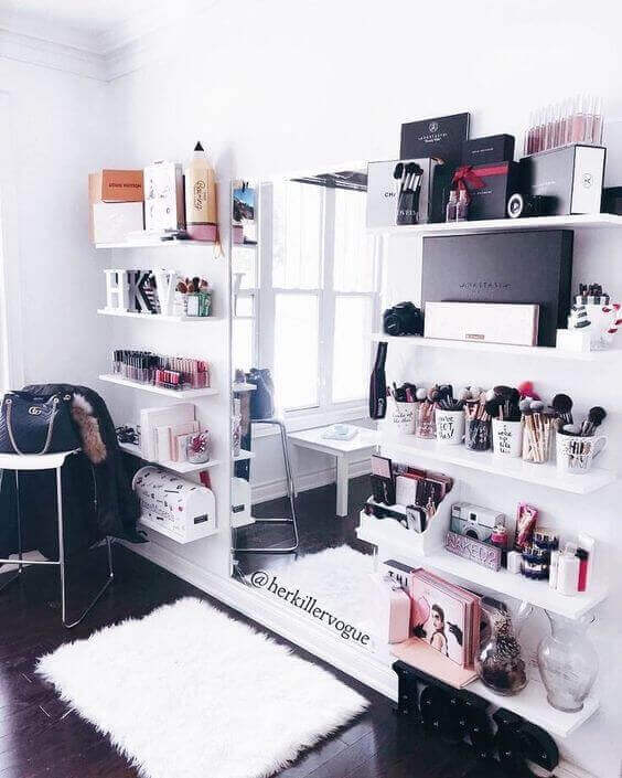 Makeup Room Ideas for Limited Space - Harptimes.com