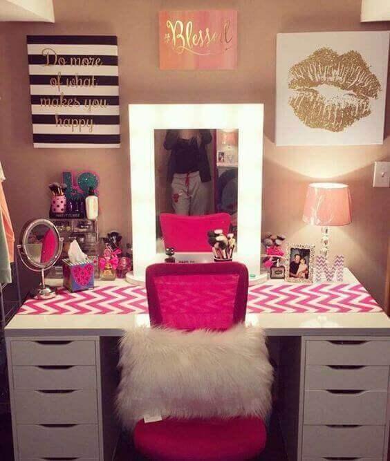 Makeup Room Ideas for Teenagers - Harptimes.com