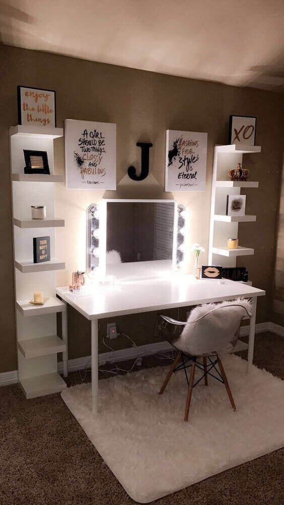 Makeup Room Ideas with Quotes - Harptimes.com