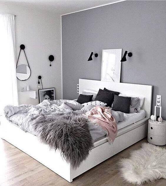 Teenage Girl Bedroom Ideas Color Grey Simple - Harptimes.com