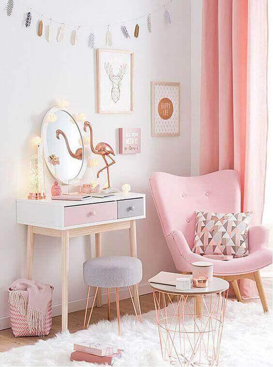 Cute Teenage Girl Bedroom Ideas Pink Whimsy Furniture
