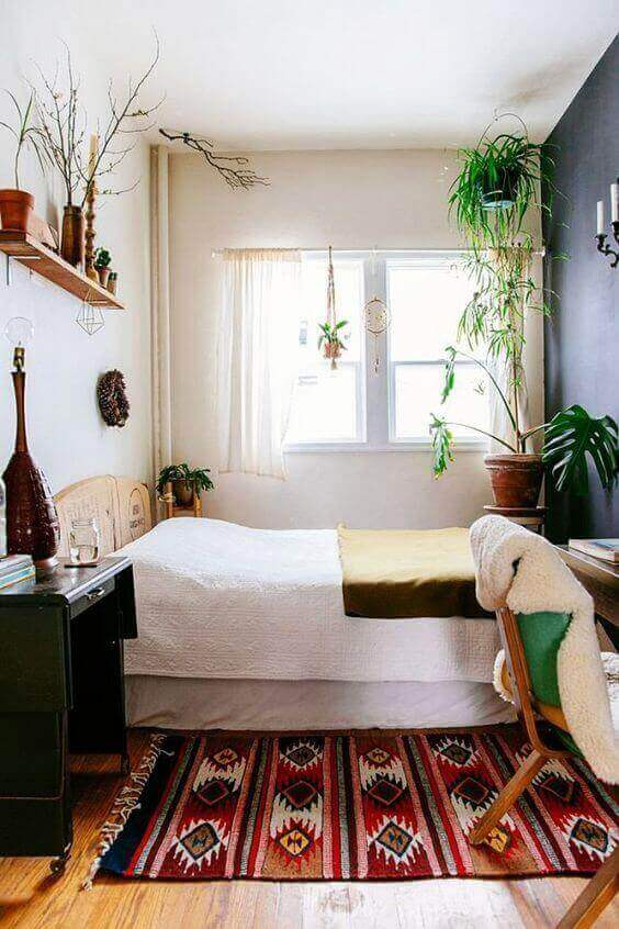 Natural-Themed Design for Small Bedroom Ideas - Harptimes.com