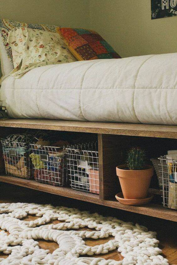 Small Bedroom Ideas with Storage under the Bed - Harptimes.com