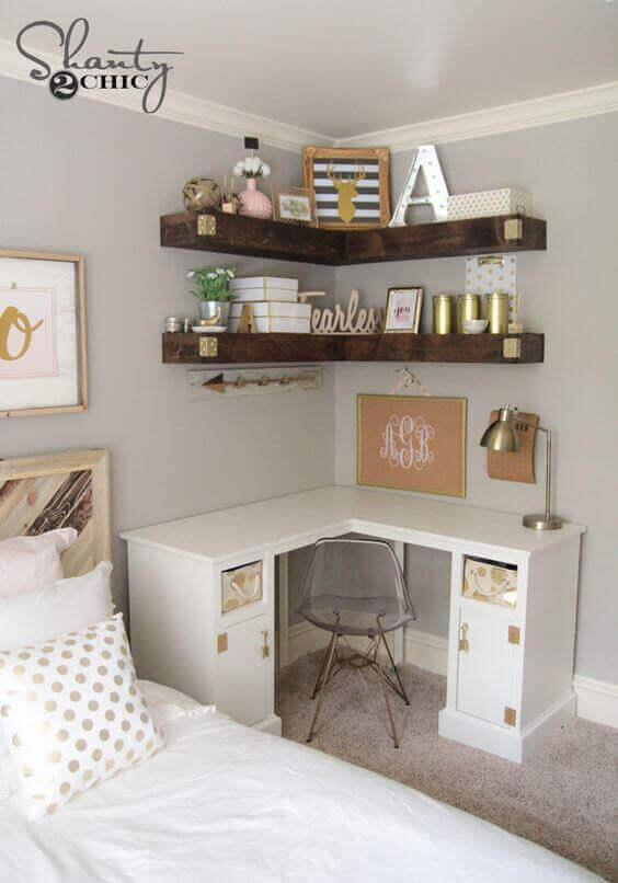 Think Vertical for Small Bedroom Ideas - Harptimes.com