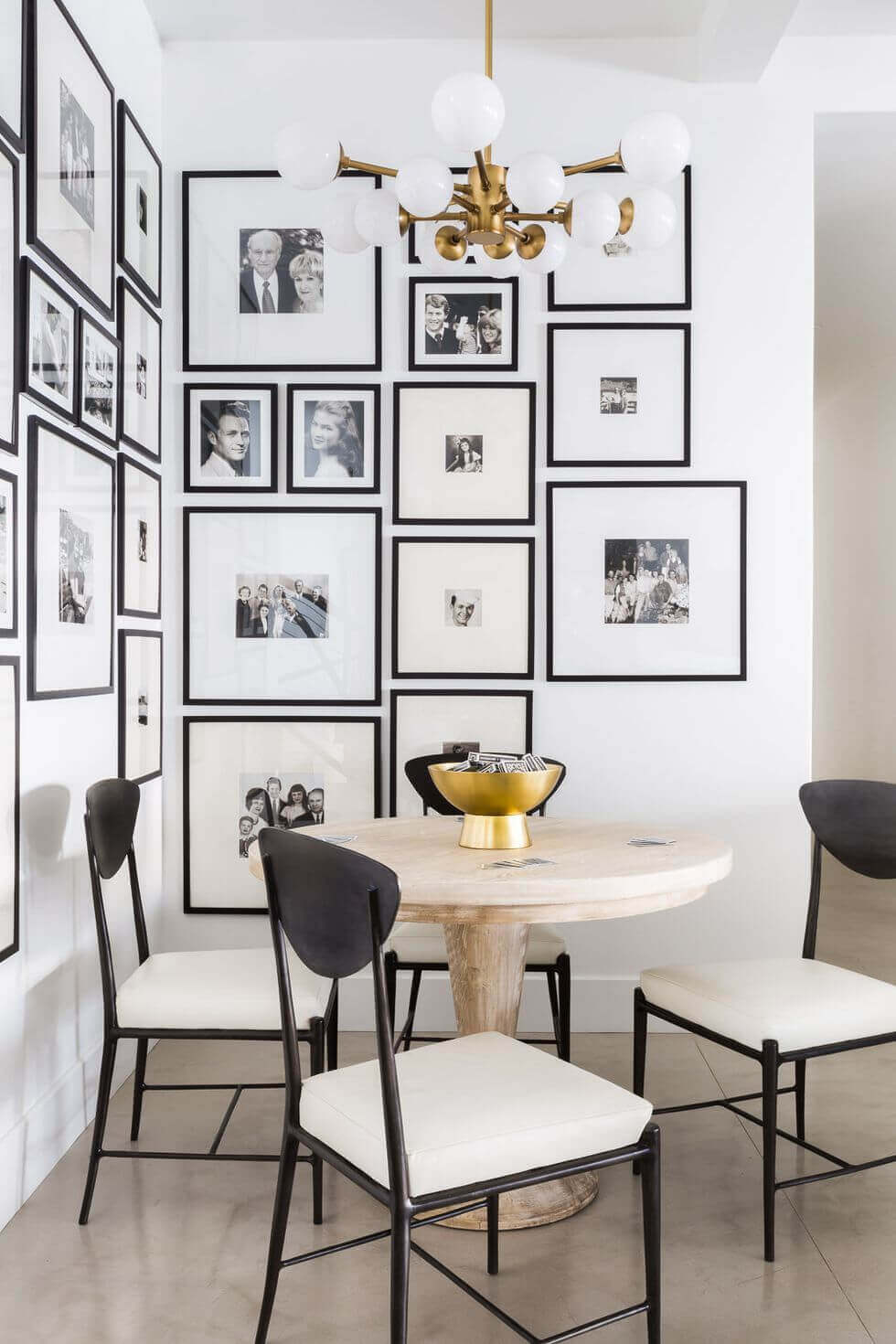 Classic Black-White Photography Gallery Wall Ideas