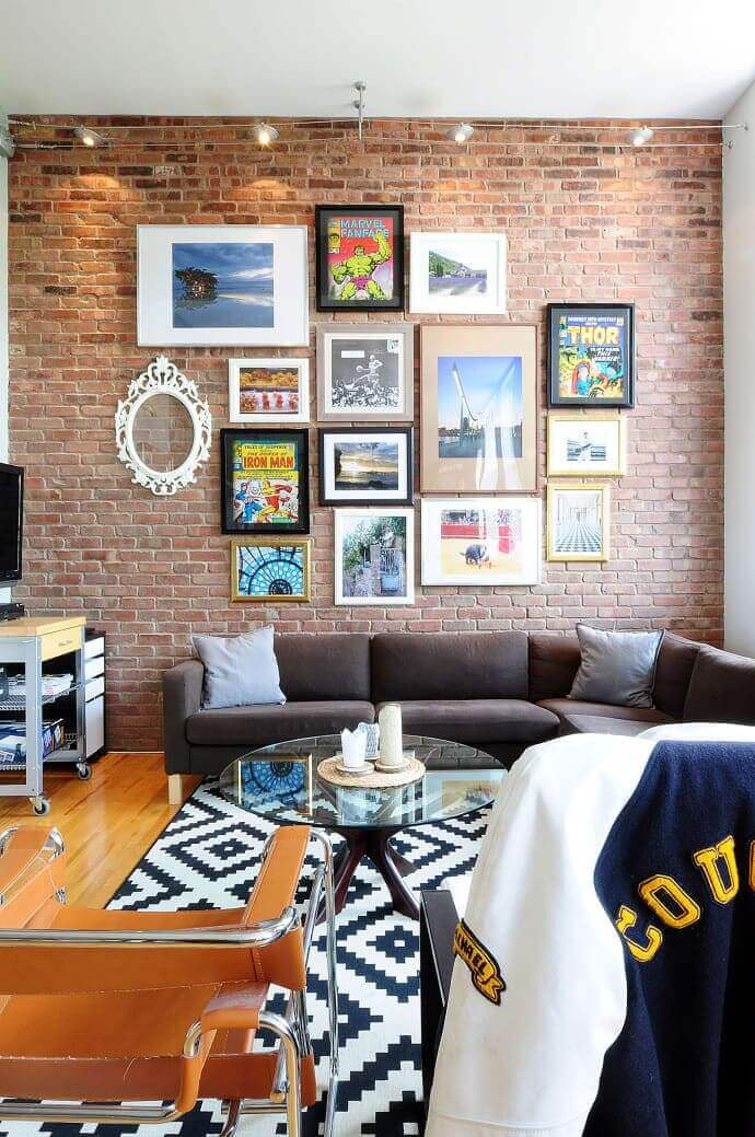 Gallery Wall Ideas Behind Couch
