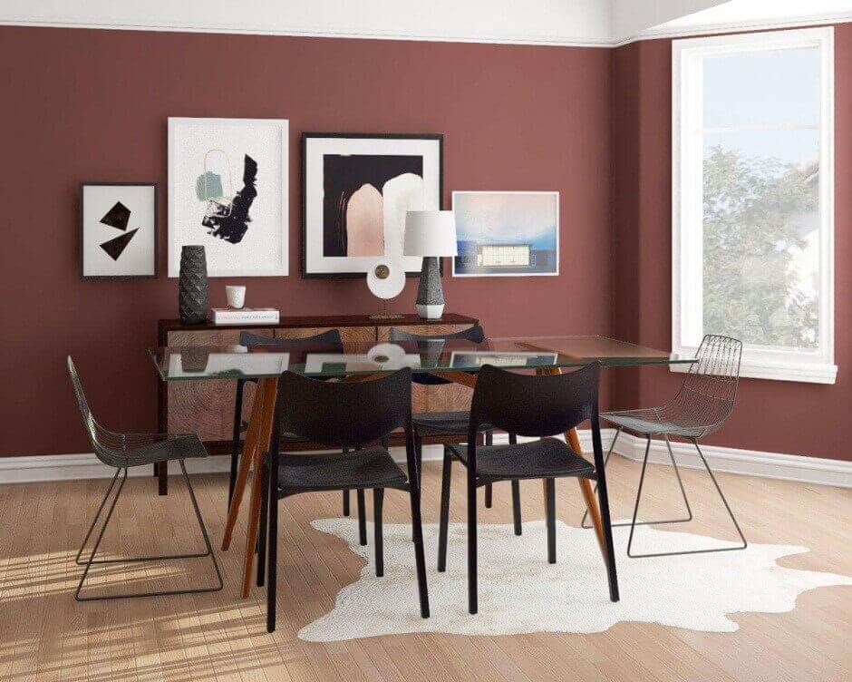 Gallery Wall Ideas Dining Room
