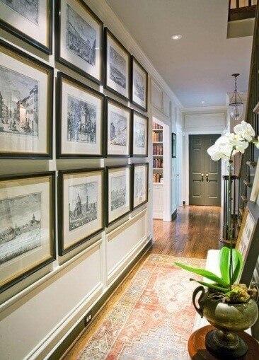 Gallery Wall Ideas Hallway - Harptimes.com