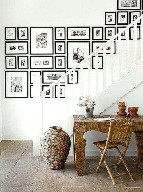 Gallery Wall Ideas Stairs