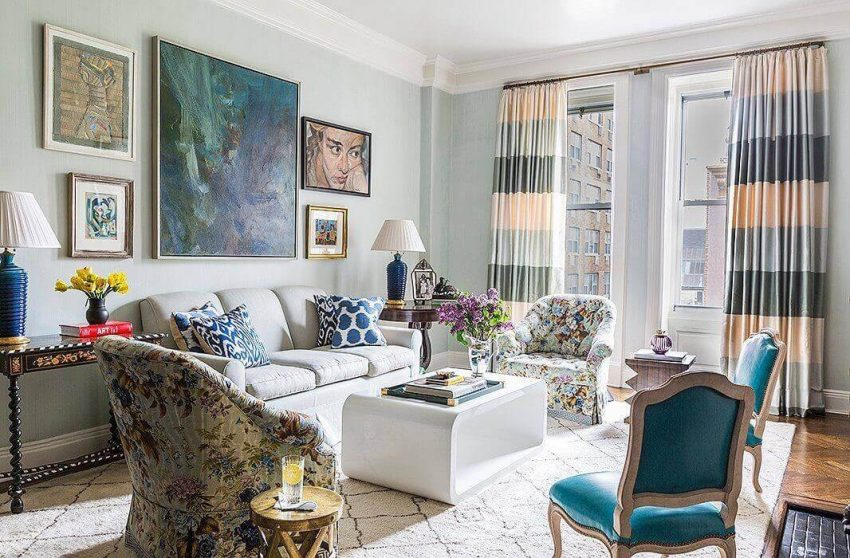 Wall Gallery Ideas for Living Room - harptimes.com
